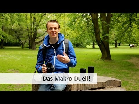 Welches Makro-Objektiv? Canon 100 mm vs. Sigma 70 mm vs. Tamron 90 mm [Deutsch]