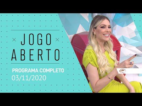 JOGO ABERTO - 03/11/2020 - PROGRAMA COMPLETO