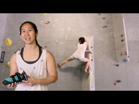 How to use your shoes properly/Footwork, Climbing shoes with Xian