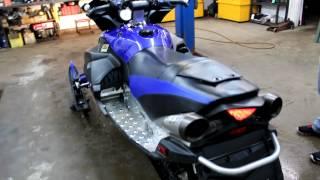 6. Yamaha Apex GT startup
