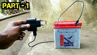 Video HOW TO CHARGE AND RESTORE A DEAD/WEAK MOTORCYCLE BATTERY WITH MOBILE CHARGER | part - 1 MP3, 3GP, MP4, WEBM, AVI, FLV Desember 2018