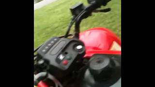 2. Walk around on 2007 Honda recon 250