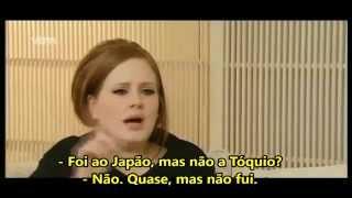 Adele - Pegadinha no Programa Ushi & Dushi (legendado PT-Br) HD