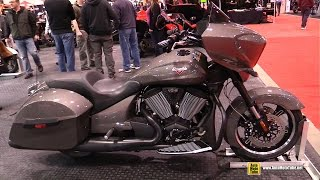 6. 2015 Victory Cross Country - Walkaround - 2015 Toronto Motorcycle Show