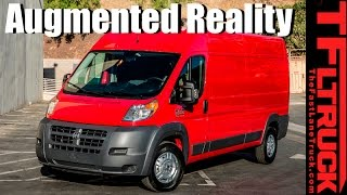 2017 Ram ProMaster Augmented Reality Configurator Demo by The Fast Lane Truck