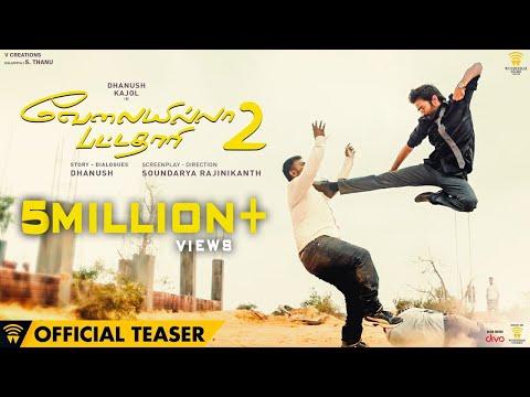 Velai Illa Pattadhaari 2 – Official Teaser | Dhanush, Kajol, Amala Paul