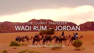 Wadi Rum Jordan  City new picture : A Desert Adventure in Wadi Rum, Jordan