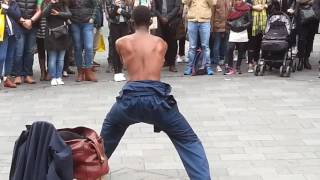 Leicester Square London - Street Performer