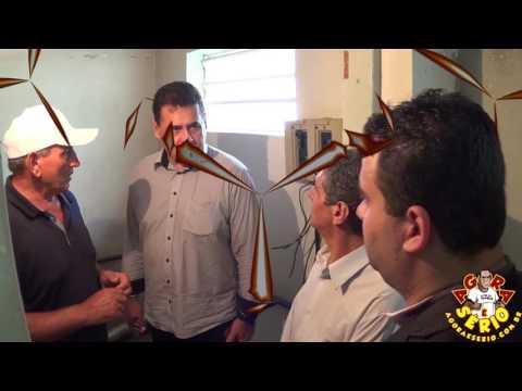 Prefeito Ayres Scorsatto recebe a visita do Deputado Estadual Jorge Wilson o Xerife do Consumidor