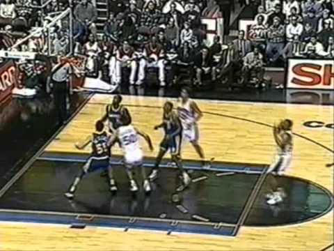 Weatherspoon - I was suprised to see that there wasn't even one video of The Spoon on youtube. Clarence bumps and pushes the Warriors around under the baskets and starts of...
