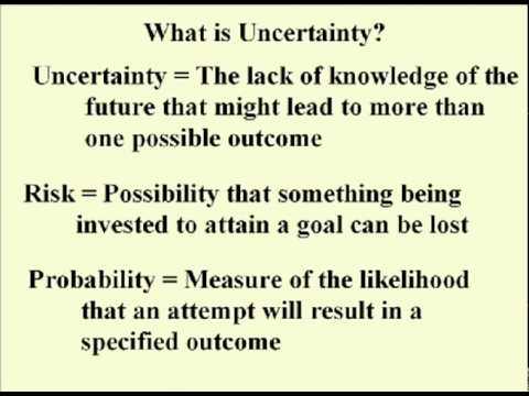ENG 352 Technisches Schreiben - 18 - Unsicherheit