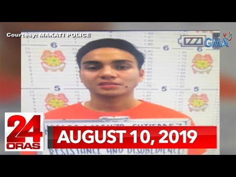 24 Oras Weekend Express: August 10, 2019 [HD]