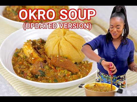 How to Make Okra Soup (UPDATED VERSION) - THE BEST OKRA SOUP RECIPE - ZEELICIOUS FOODS