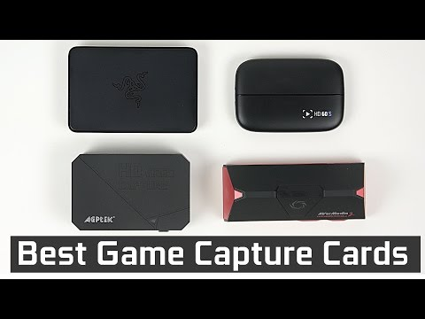 Top Gaming Capture Cards - 2017