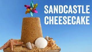 Sandcastle Cheesecake by  My Virgin Kitchen