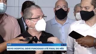 Secretários de São Paulo visitam Jaú anunciam ampliação de leitos
