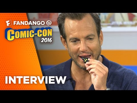 "COMIC CON: Will Arnett Interview for ""The Lego Batman Movie"""