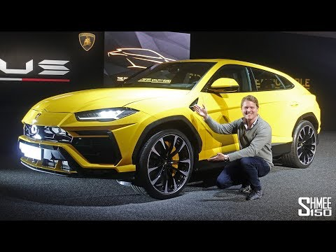 Check Out the NEW Lamborghini Urus! | FIRST LOOK