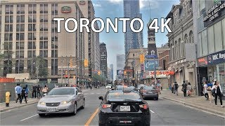 Video of Yonge Street Toronto Canada on map.