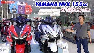 Yamaha NVX 155 Kỷ niệm 20 năm ▶ Trắng trẻo thư sinh!