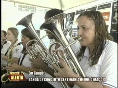 Banda de concerto centenária reúne gerações em Guapé