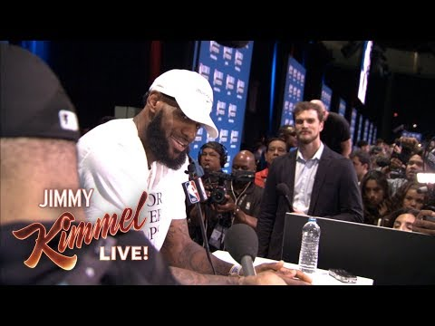 Guillermo at NBA All-Star Media Day 2018 – Finding LeBron (видео)
