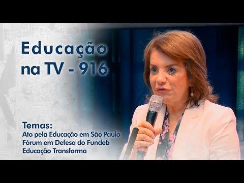 Ato pela Educação em São Paulo | Fórum em Defesa do FUNDEB | Educação Transforma