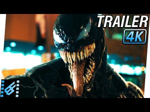 VENOM Trailer 2 (2018) 4K Ultra HD | Tom Hardy, Michelle Williams, Riz Ahmed