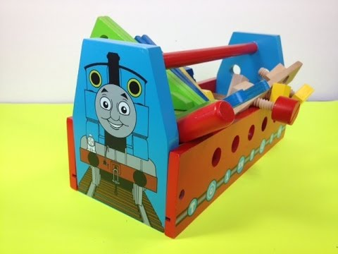 thomas - https://www.youtube.com/watch?v=_E2Sd9IaLfo&list=PLycXYG7ngZnmBVAs8Mld3YckYameThr8f This video is about Thomas and friends Themed Wooden Tool Kit Designed af...