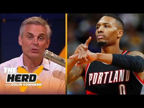 The Herd | Colin Cowherd react to Blazers lose Game 3 to Nuggets despite Damian Lillard's 37 Pts