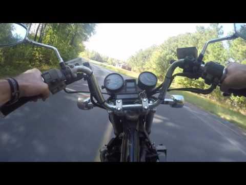 1984 Honda VF500C Magna V30 Project - First Ride (видео)