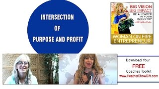 Episode  #84 : Intersection of Purpose and Profit with guest Michelle Vandepas