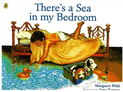 THERE'S A SEA IN MY BEDROOM (BOOK) KIDS READING - WITH ENGLISH SUBTITLES