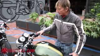 6. 2013 Moto Guzzi V7 Racer vs. 2013 Triumph Thruxton