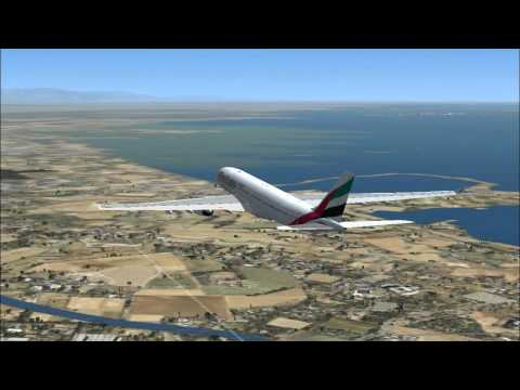 Flight Simulator X : Dubaï - Venise