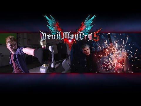 《惡魔獵人 5》Devil May Cry 5  真人拍攝影片宣傳影片