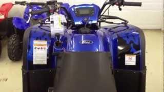 6. 2012 Kymco MXU 500 Ford Raptor Edition