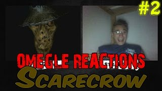 """Finally back in action and back on Omegle! New scare prank is out!People on Omegle really love the Scarecrow! --------------------------------------------------Keep stalking me: - https://twitter.com/TheAzGarot - https://www.facebook.com/TheAzGarot-  https://instagram.com/TheAzgarot-  https://vine.co/u/1254570761541820416--------------------------------------------------This is another video of mine with a bunch of spontaneous, hilarious Omegle reactions. For all of you Omegle fans, check it out, feel free to comment and share, I am sure you will enjoy it. It's unbelievable how easy it is to scare people on video chats, I get a ton of angry, boring, funny, adult (read: masturbating! xD) reactions every day but I give you the very best of them in my prank videos.I am one of those Omegle junkies and I want to share my experience with you guys, I am sure that there are a lot of like minded people out there. Who knows, maybe your reaction is in one of my videos :)--------------------------------------------------For all of you who don't know what Omegle is, it is a website where you can meet and chat with random people from all around the world. Here is a link to the website: - http://www.omegle.com/Another website, pretty much the exact same thing as Omegle is Chatroulette. Here is a link: - http://chatroulette.com/--------------------------------------------------There is also a couple of Youtube videos and channels I would highly recommend you to see. If you are a Chatroulette or Omegle fan, I am positive that you will have a lot of fun with these: 1. This is a somewhat viral video of people getting scared on Chatroulette """"The last exorcism"""" style, a must see for online prank fans: - https://www.youtube.com/watch?v=CNSaurw6E_Q 2. Here is another video which is similar to what I do, basically a reactions video of people getting scared, the only difference is that Pinkstylist uses make up while I am using masks. I will also give you a link to his Youtube prank channel:"""