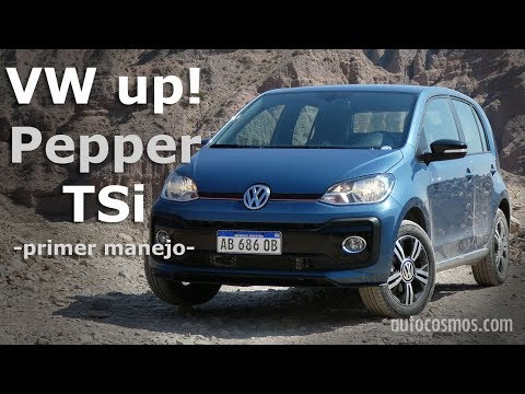 VW up! Pepper a 4.000 metros de altura