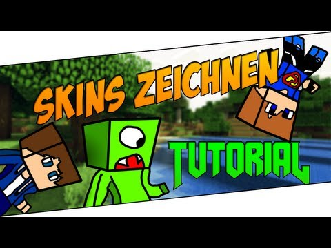 Minecraft Skins zeichnen Cartoon Avatar Tutorial [Deutsch|HD]