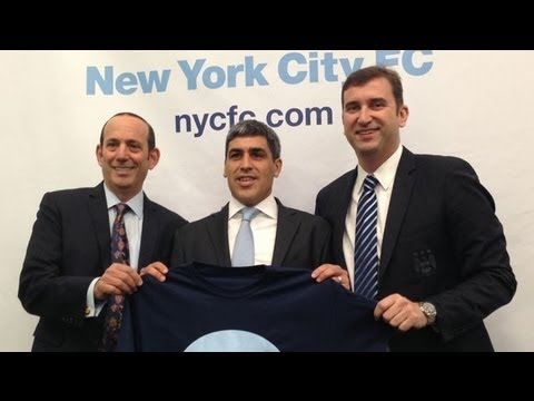as - MLSsoccer.com attended New York City Football Club's press conference in Manhattan this morning in which former US National Team, Manchester City, and New Yo...