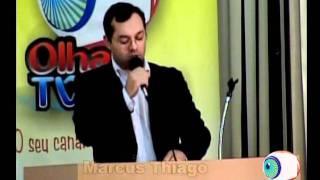 Vereador Neto Girelli e Marcus Thiago parabenizam o OlharTV