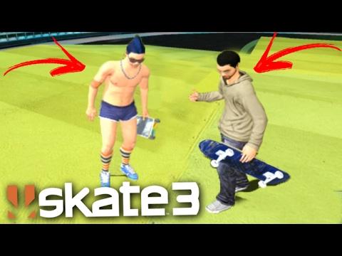 SKATE 3 (Multiplayer) - A VOLTA das RAMPAS!!! (Skate Share Pack)