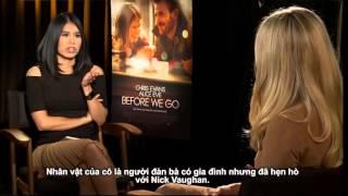 Alice Eve as Brooke Dalton in 'BEFORE WE GO' (2015)
