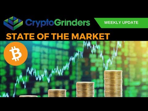 ARE BEARS DONE??? BTC Price Analysis | 9th April 2018 CG State Of The Market video