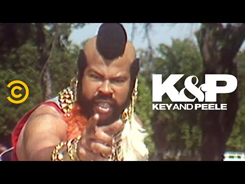 When Mr. T Won't Leave You Alone - Key & Peele