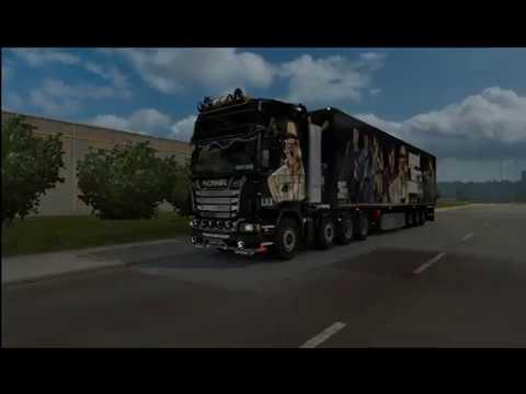 GTA V Truck Skin and Trailer 1.28.x