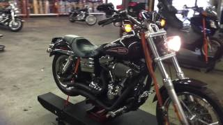 7. 2008 Harley Davidson Dyna Low FXDL (blk) 1845 Fallen Cycles