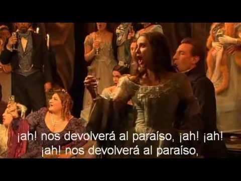 Brindis La Traviata Subtitulos Español