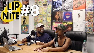 On the episode of Flip @ Nite - Queenzflip & Nia (@_aroundthewayfilet) talks about being broken, not having a father figure around & much more!! #PRESSPLAY